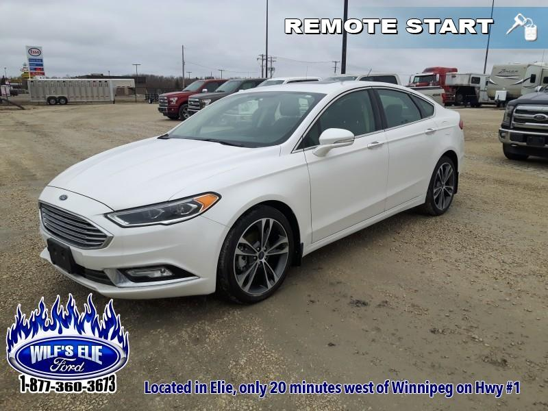 2018 Ford Fusion Titanium   - Remote Start