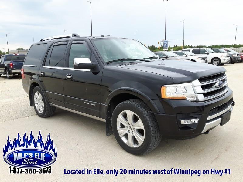 2016 Ford Expedition Platinum   8 Passenger