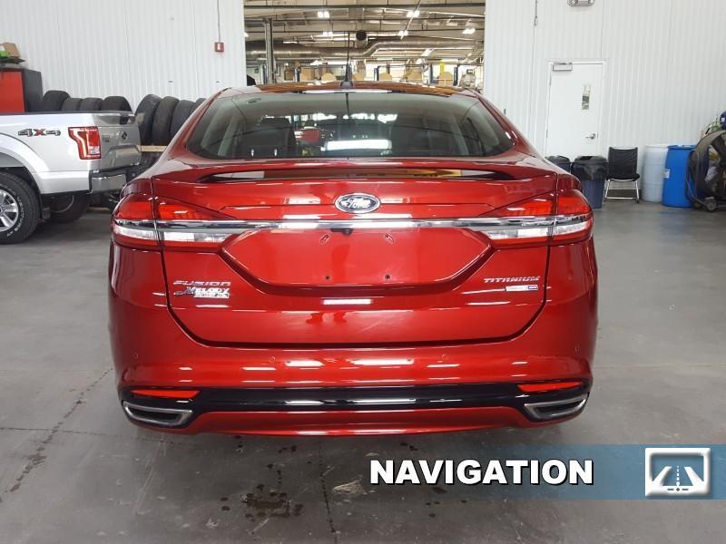 2018 Ford Fusion Titanium  - Navigation - Sunroof - $184 B/W