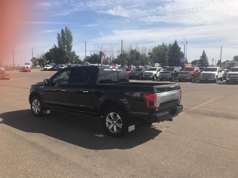 2018 Ford F-150 Platinum  - NAVIGATION - TWIN MOONROOF - $402 B/W