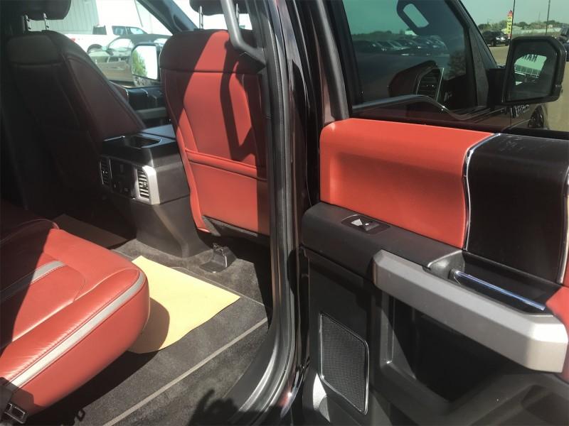2018 Ford F-150 Platinum  - NAVIGATION - TWIN MOONROOF - $374 B/W