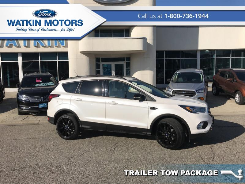 2019 Ford Escape Titanium 4WD   - 4X4 Sport Ecoboost