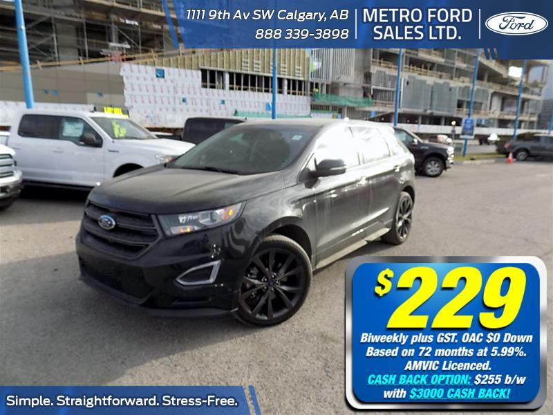 2015 Ford Edge Sport  - Leather Seats -  Bluetooth