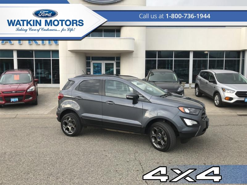 2018 Ford EcoSport SES AWD  - 2.0