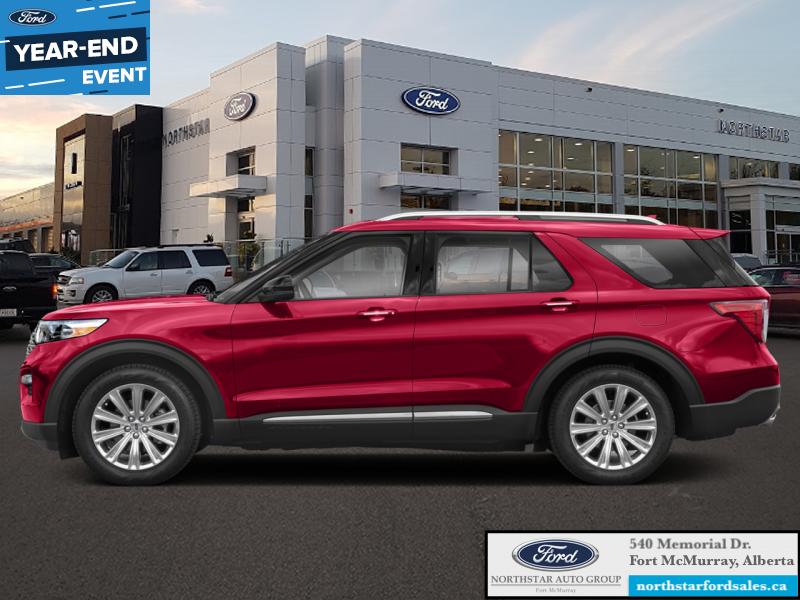 2020 Ford Explorer Platinum Rapid Red 3 0l Ecoboost V6