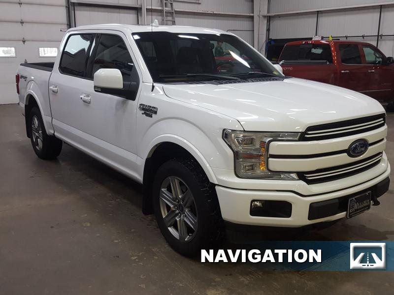 2018 Ford F-150 Lariat  - Navigation - Sunroof - $305 B/W