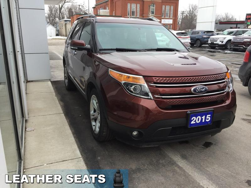 2015 Ford Explorer Limited  - Navigation - Heated Seats - $191 B/W