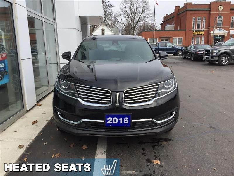2016 Lincoln MKX Reserve  - Trade-in - Leather Seats - $202 B/W