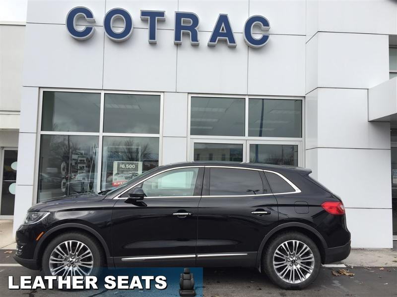2016 Lincoln MKX Reserve  - Trade-in - Leather Seats - $193 B/W