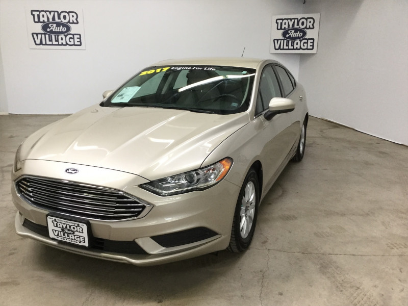 2017 Ford Fusion S  -  - Keyless Start - Bluetooth - $60.42 /Wk