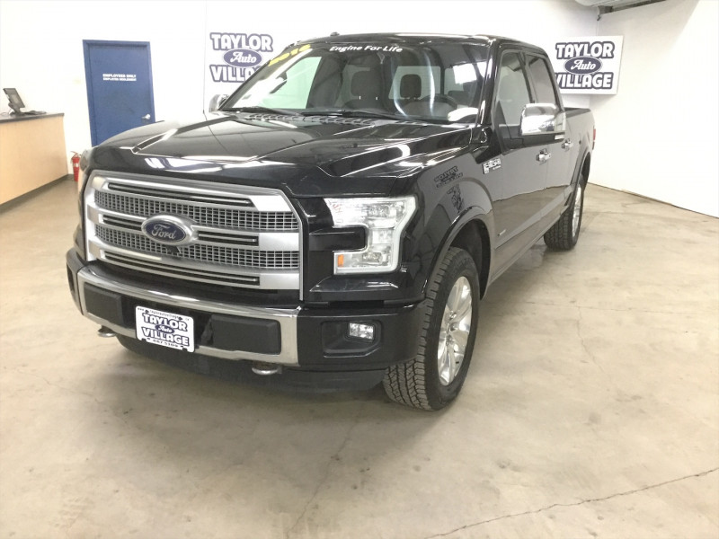 2016 Ford F-150 Platinum  Dual Zone Climate Control, Lane Departure Warning