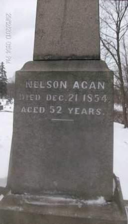 ACAN, NELSON - Albany County, New York | NELSON ACAN - New York Gravestone Photos