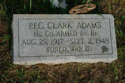 ADAMS (WWII), CLARK - Albany County, New York | CLARK ADAMS (WWII) - New York Gravestone Photos