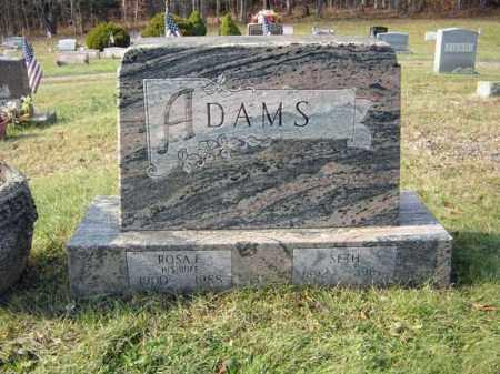 ADAMS, ROSA E - Albany County, New York | ROSA E ADAMS - New York Gravestone Photos