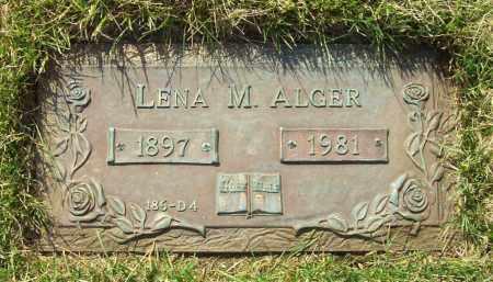 MULLER ALGER, LENA M. - Albany County, New York | LENA M. MULLER ALGER - New York Gravestone Photos