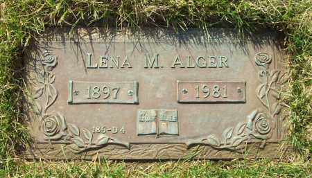 ALGER, LENA M. - Albany County, New York | LENA M. ALGER - New York Gravestone Photos