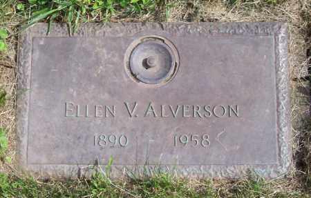 ALVERSON, ELLEN V. - Albany County, New York   ELLEN V. ALVERSON - New York Gravestone Photos