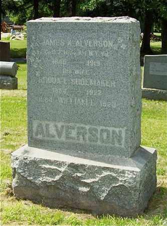 ALVERSON, RHODA E. - Albany County, New York | RHODA E. ALVERSON - New York Gravestone Photos