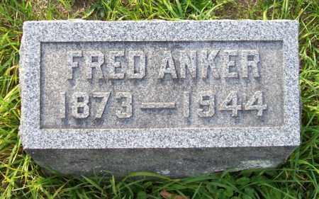 ANKER, FREDERICK - Albany County, New York | FREDERICK ANKER - New York Gravestone Photos