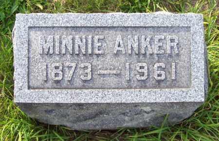 ANKER, MINNIE - Albany County, New York   MINNIE ANKER - New York Gravestone Photos