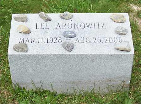 ARONOWITZ, LEE - Albany County, New York | LEE ARONOWITZ - New York Gravestone Photos