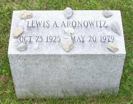 ARONOWITZ, LEWIS A - Albany County, New York | LEWIS A ARONOWITZ - New York Gravestone Photos
