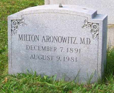 ARONOWITZ, MILTON - Albany County, New York | MILTON ARONOWITZ - New York Gravestone Photos