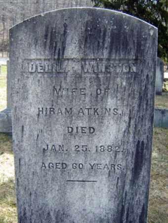 WINSTON, DELILA - Albany County, New York   DELILA WINSTON - New York Gravestone Photos