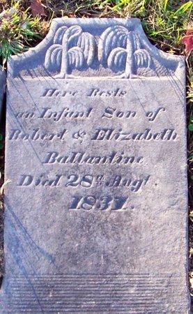 BALLANTINE, INFANT SON - Albany County, New York | INFANT SON BALLANTINE - New York Gravestone Photos
