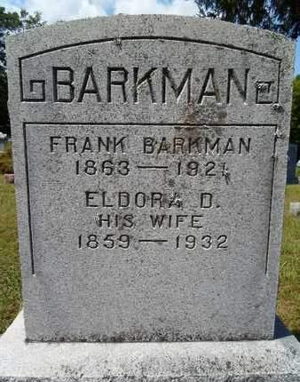 BARKMAN, FRANK - Albany County, New York | FRANK BARKMAN - New York Gravestone Photos