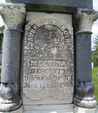 BASSLER, MELVINA - Albany County, New York | MELVINA BASSLER - New York Gravestone Photos