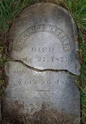 BASSLER, FREDERICK - Albany County, New York | FREDERICK BASSLER - New York Gravestone Photos