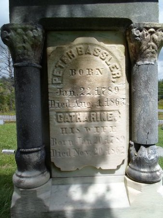 BASSLER, PETER - Albany County, New York | PETER BASSLER - New York Gravestone Photos