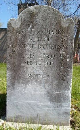 RICHARDS, MAY H - Albany County, New York | MAY H RICHARDS - New York Gravestone Photos