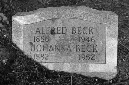 BECK, JOHANNA - Albany County, New York | JOHANNA BECK - New York Gravestone Photos