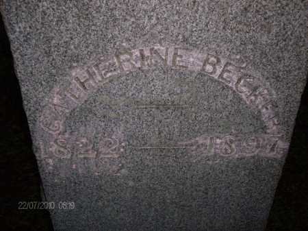 BECKER, CATHERINE - Albany County, New York | CATHERINE BECKER - New York Gravestone Photos