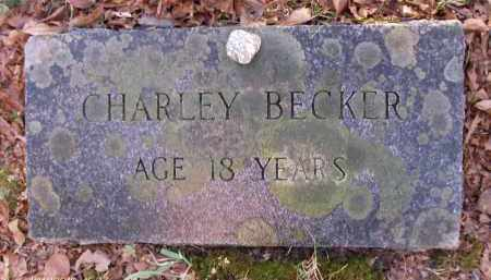 BECKER, CHARLEY - Albany County, New York | CHARLEY BECKER - New York Gravestone Photos