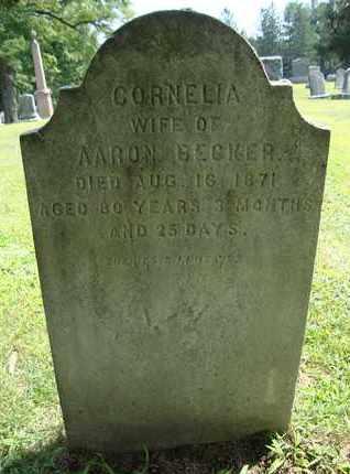 BECKER, CORNELIA - Albany County, New York   CORNELIA BECKER - New York Gravestone Photos