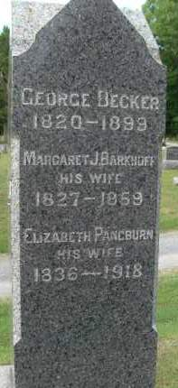 BECKER, MARGARET J - Albany County, New York | MARGARET J BECKER - New York Gravestone Photos
