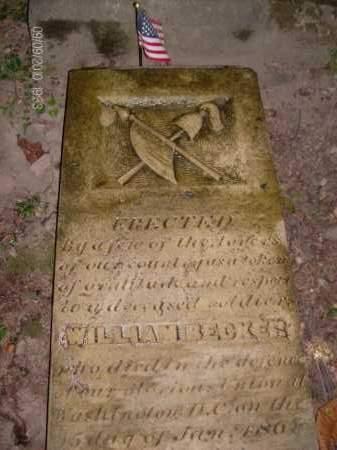 BECKER, WILLIAM - Albany County, New York | WILLIAM BECKER - New York Gravestone Photos