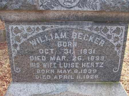 BECKER, LUISE - Albany County, New York   LUISE BECKER - New York Gravestone Photos