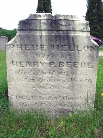 BEEBE, EDGER - Albany County, New York | EDGER BEEBE - New York Gravestone Photos
