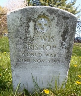 BISHOP (WWI), LEWIS - Albany County, New York | LEWIS BISHOP (WWI) - New York Gravestone Photos