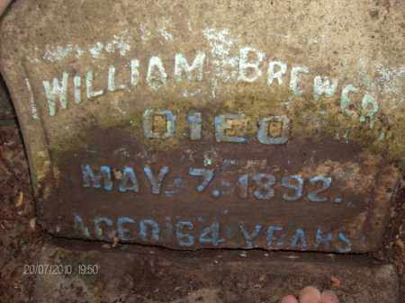 BREWER, WILLIAM - Albany County, New York | WILLIAM BREWER - New York Gravestone Photos