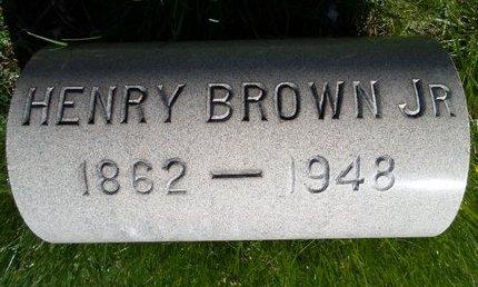 BROWN, HENRY JR - Albany County, New York | HENRY JR BROWN - New York Gravestone Photos