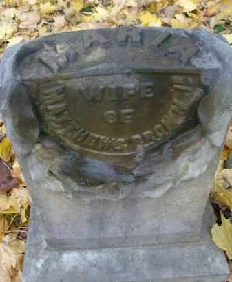 BROWN, MARIA - Albany County, New York | MARIA BROWN - New York Gravestone Photos