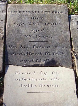 BROWN, INFANT - Albany County, New York | INFANT BROWN - New York Gravestone Photos
