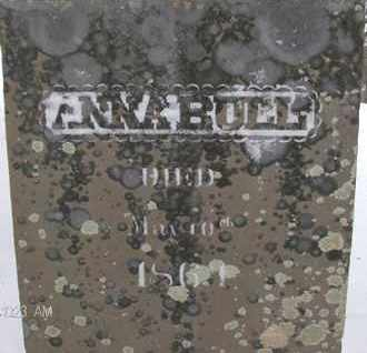 BULL, ANNA - Albany County, New York   ANNA BULL - New York Gravestone Photos