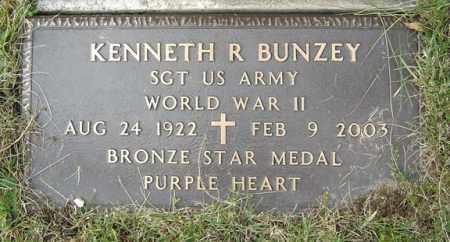BUNZEY (WWII), KENNETH R - Albany County, New York | KENNETH R BUNZEY (WWII) - New York Gravestone Photos