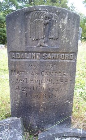 CAMPBELL, ADALINE - Albany County, New York | ADALINE CAMPBELL - New York Gravestone Photos